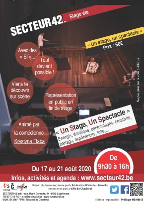 "30-06-2020 - STAGE ""UN STAGE, UN SPECTACLE"""