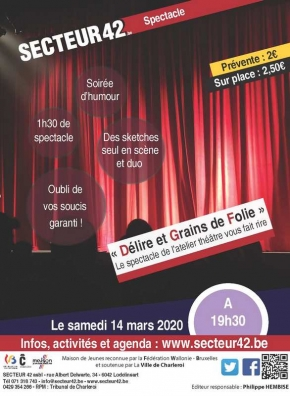 14-03-2020 - DELIRE ET GRAINS DE FOLIE