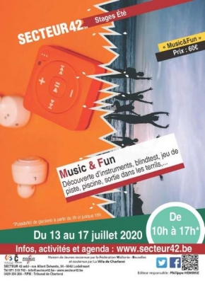 "18-06-2020 - STAGE ""MUSIC & FUN"""