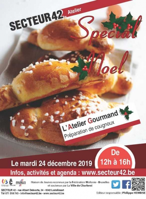 ATELIER GOURMAND SPECIAL NOEL