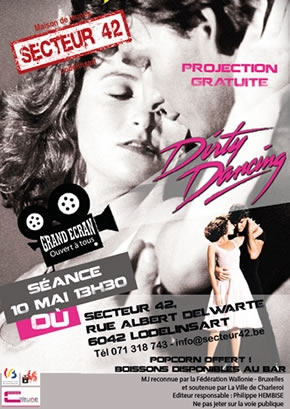 PROJECTION DU FILM DIRTY DANCING